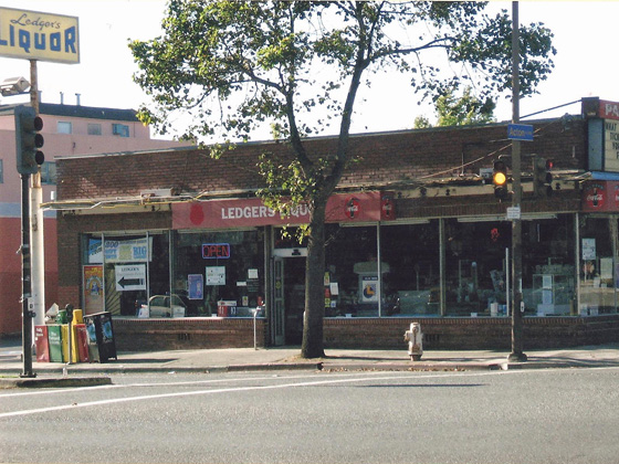 Ledger's liquor store