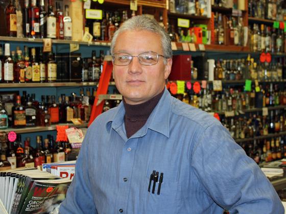 Ledger's liquor store