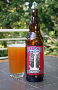 High water Brewing Hop Riot IPA beer pic