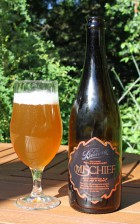 The Bruery's Mischief Belgian Pale ale beer pic