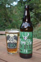 Stone Enjoy By IPA at www.Barleypop.com. Review
